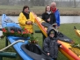 Bootstaufe im Anschluß an das Anpaddeln