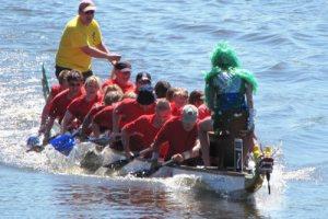 KGW belegt den 3. Platz beim 2. Itzehoer Drachenboot Cup des IWW Itzehoe