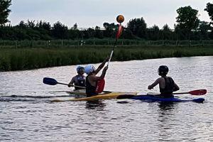 Kanu Polo Training auf der Wilsterau