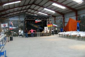 Vorbereitungen für unser Jubifest